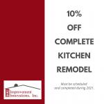 HII 10% Off Kitchen