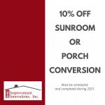 HII 10% Off Sunroom