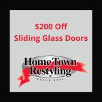HTR $200 Off Sliding Glass Door