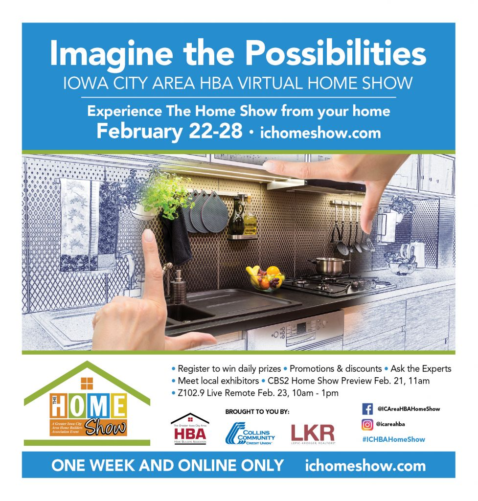 IC Area HBA Virtual Homeshow Magazine cover